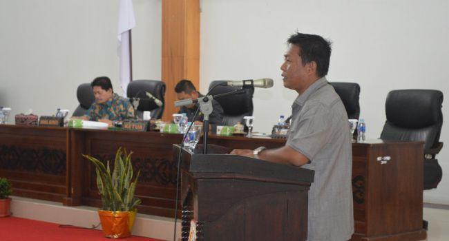 Jawaban Atas Pemandangan Umum Anggota DPRD